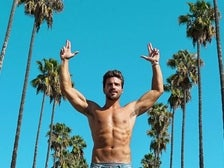 Mariano Di Vaio and Palm Trees