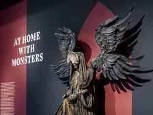 """Angel of Death from """"Hellboy II"""" at """"Guillermo del Toro: At Home with Monsters,"""" LACMA"""