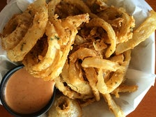 Maui onion rings at Shaka Shack Burgers