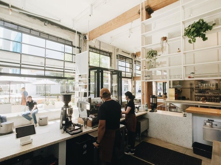 Paramount Coffee Project at the ROW DTLA