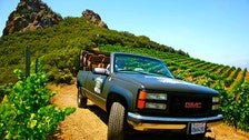 Malibu Wine Safaris truck
