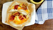 Breakfast tacos at HomeState