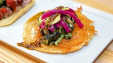 Octopus taco at Petty Cash