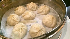 Soup dumplings at ROC Kitchen