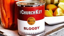 Canned Bloody Mary at The Church Key
