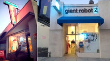Giant Robot and GR2 Gallery on Sawtelle Boulevard