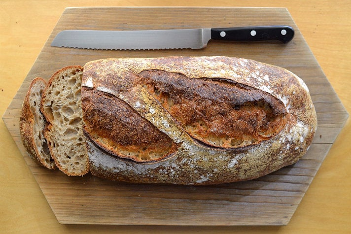 Whole wheat levain at Clark Street Bread