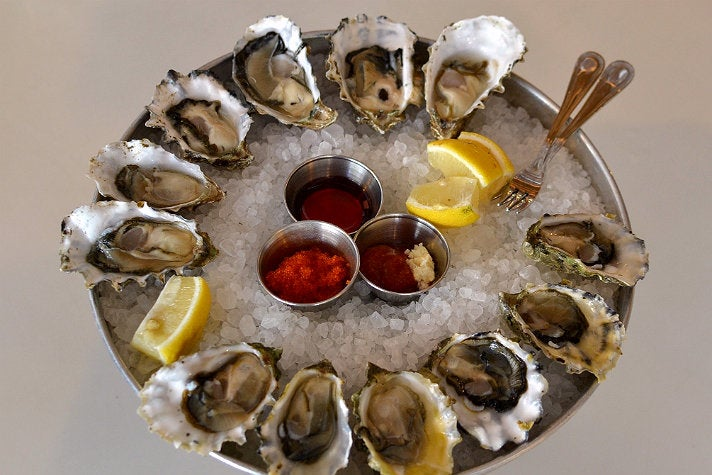 The Oyster Gourmet at Grand Central Market