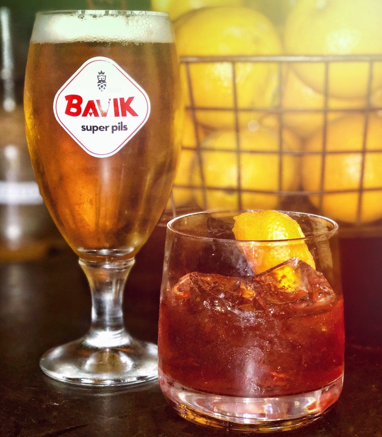 $4.17 Bavik or Barrel Aged Old Fashioned for Tax Day at Plan Check
