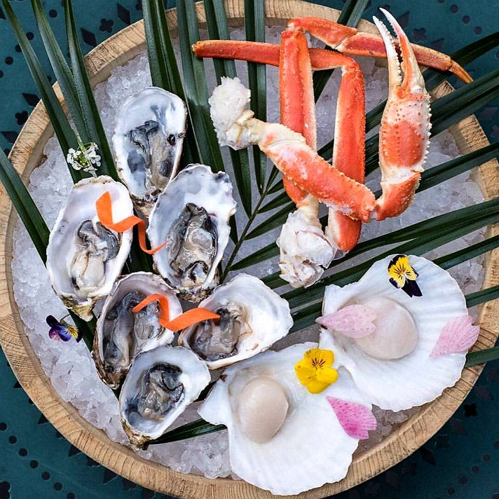 AYCE seafood at Sunday Brunch by Chaya Downtown L.A.