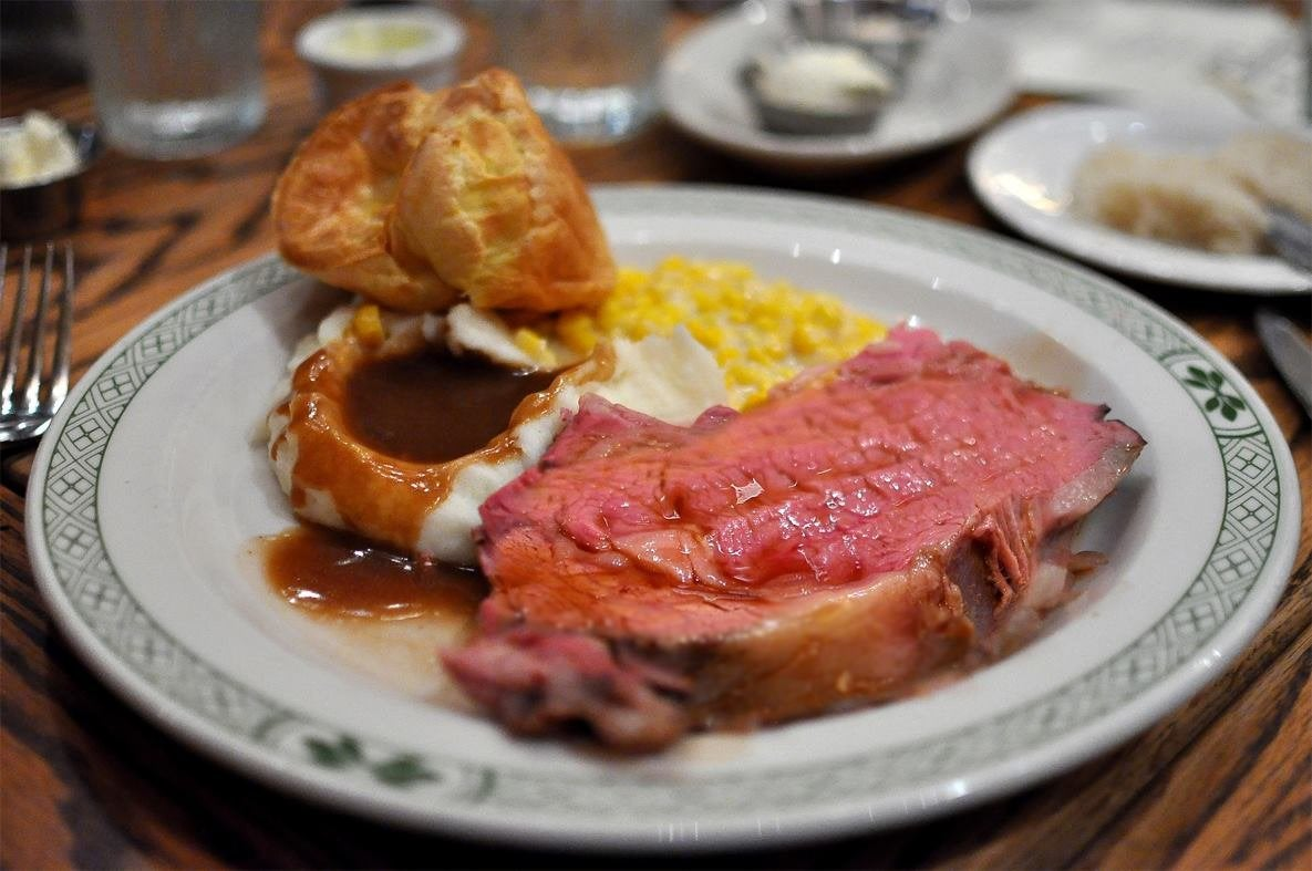 Prime Rib Dinner at The Tam O'Shanter